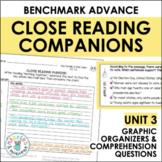 Benchmark Advance Close Reading Companions (Fourth Grade, Unit 3)