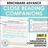 Benchmark Advance Close Reading Companions (Fourth Grade, Unit 5)