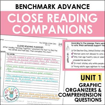 Close Reading Companions (Second Grade, Unit 1)