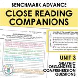 Close Reading Companions (Benchmark Advance, Second Grade, Unit 3)