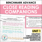Benchmark Advance Close Reading Companions (Third Grade, Unit 1)