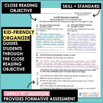 Close Reading Companions (Benchmark Advance, Third Grade, Unit 3)