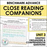 Benchmark Advance Close Reading Companions (Third Grade, Unit 3)