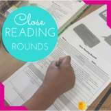 Close Reading - Complete Activity Guide & Graphic Organizers