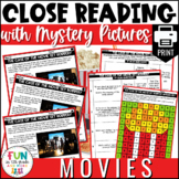 Close Reading Comprehension Activity: Movie Themed | PRINT