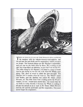 Close Reading Comprehension Passage with Questions How the Whale Got His Throat