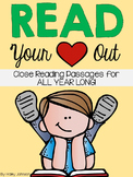 Close Reading Comprehension Passages for All Year Long