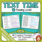Close Reading Comprehension Passages Google Classroom Distance Learning