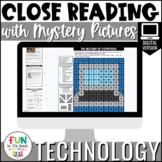 Close Reading Comprehension: Technology Themed | Distance