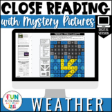 Close Reading Comprehension: Weather Themed | Distance Lea