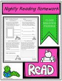 Free Reading Practice Tracker