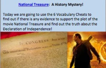 Close Reading: Declaration of Independence with National T