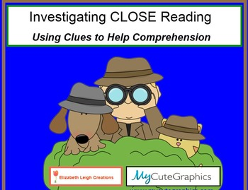 Close Reading Detectives