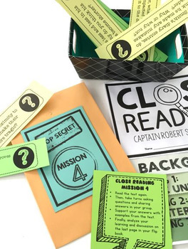 Close Reading – Doodle Notes and Interactive Flip Book