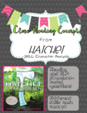 Close Reading Excerpt from Hatchet (Character Analysis)