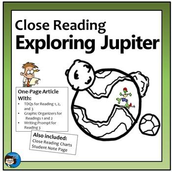 Close Reading - Exploring Jupiter