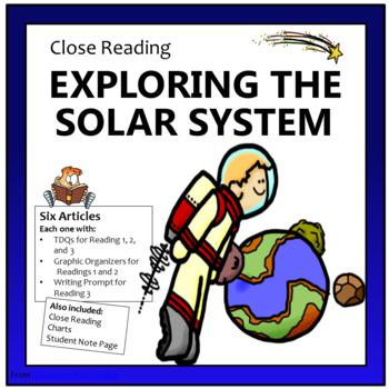 Close Reading - Exploring the Solar System