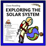 Close Reading - Exploring the Solar System