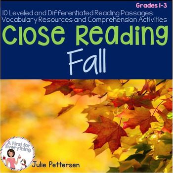 Close Reading Fall
