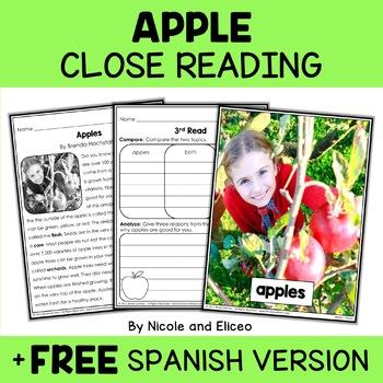 Fall Close Reading Passages Bundle