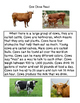 Close Reading ~ Farm Animals: Expository Text