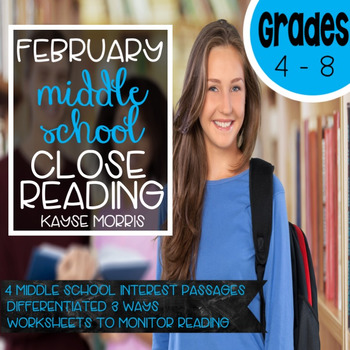 February Reading Comprehension Passages and Questions