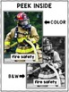 Close Reading Passage - Fire Safety Activities