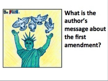 Close Reading:  First Amendment Landmark Cases and Political Cartoons