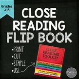 Close Reading Flip Book