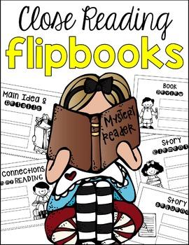 Close Reading Flip Book