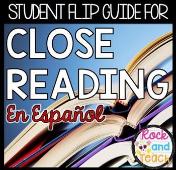 Student Response Close Reading: Espanol
