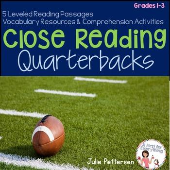 Football Quarterbacks Close Reading