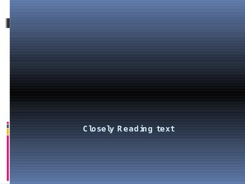 Close Reading For Students