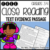 Reading Comprehension Free