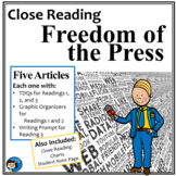 Close Reading - Freedom of the Press