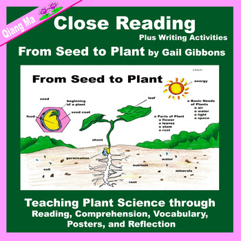 Close Reading: From Seed to Plant by Gail Gibbons