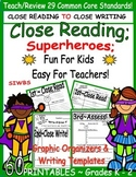 Shared Reading; Story Elements; Close Reading; Easy for Teachers!  K - 2