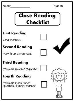 Close Reading Grades 3-5