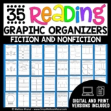 Reading Graphic Organizers - Fiction and Nonfiction