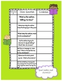 Close Reading Graphic Organizers for ANY passage- Close Read Literacy Center