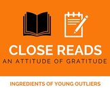Close Reading: Gratitude
