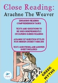Close Reading - Greek Mythology - Arachne the Weaver