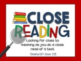Close Reading: Guide Your Students Through the Process