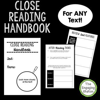 Close Reading Handbook for ANY Text