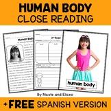 Close Reading Passage - Human Body Activities