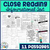Close Reading: Informational Text
