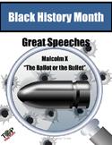 Black History Month Malcolm X Close Reading Unit