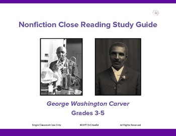 Nonfiction Close Reading Study Guide