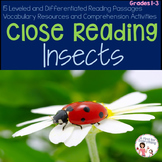 Close Reading Insects