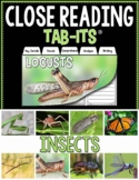 Close Reading - Insects | Distance Learning